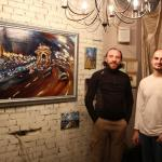Solo Exhibition in art-club TIR. Moscow